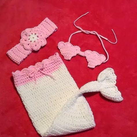 FancyGantz: Free Baby Mermaid Seashell Bra Pattern | crocheting ...
