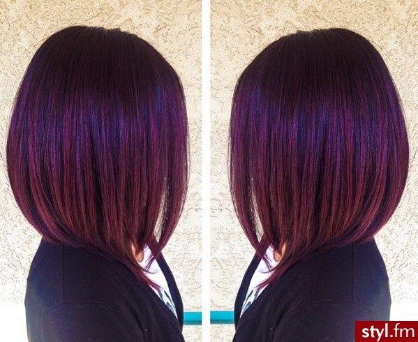 Tinte colorate per capelli scuri