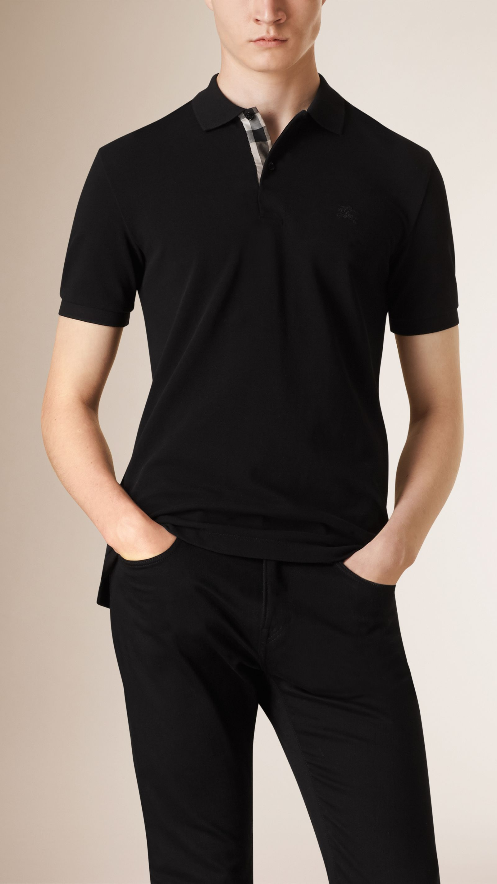 Polo Shirts T Shirts For Men Burberry United States Pique Polo Shirt Polo Polo Shirt