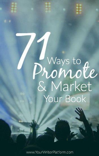 71 Möglichkeiten Euer Buch zu vermarkten