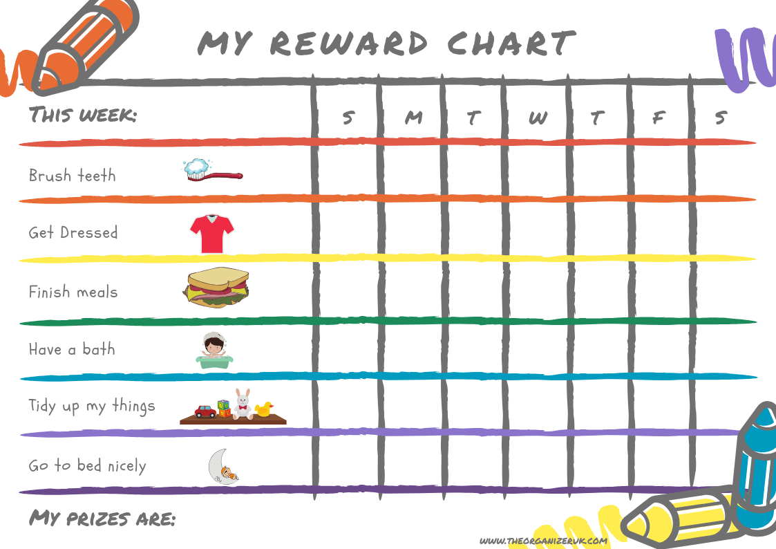8 Of The Best Free Printable Kids Chore Charts The