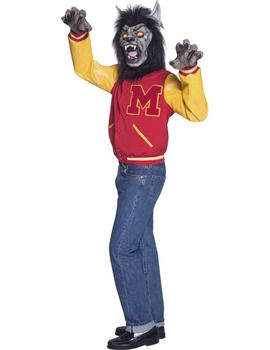 Michael Jackson Thriller Werewolf Costume  sc 1 st  Pinterest & Michael Jackson Thriller Werewolf Costume | Amazing doll houses ...
