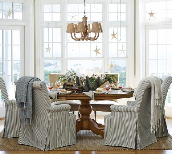 I Must Get Slipcovers For Our Pleather Parson Chairs Pb