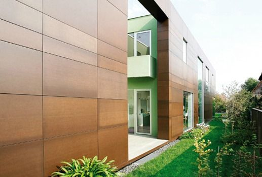 Exterior Wood Cladding Systems : Architectural cladding pict of resoplan