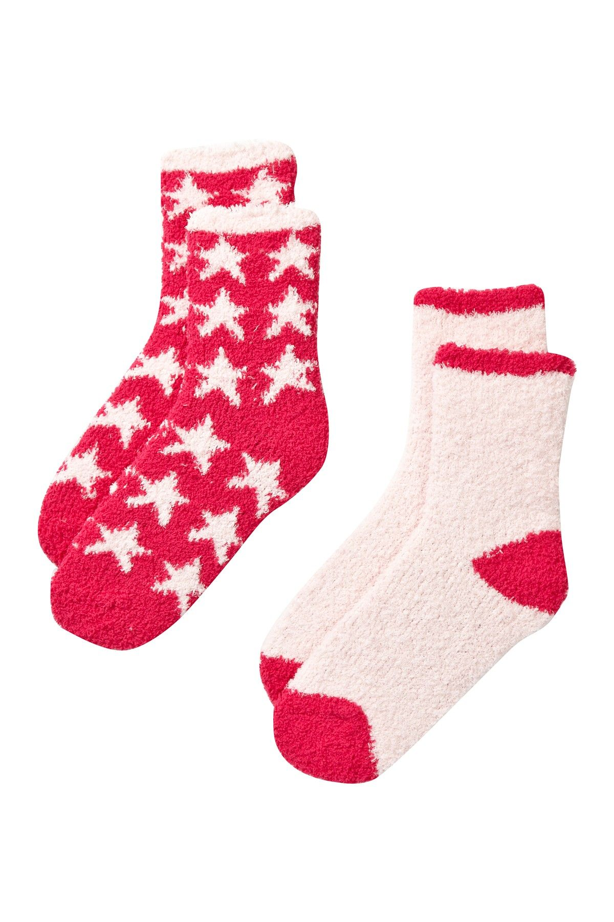 Patterned Fuzzy Socks - Pack of 2   Socks and Nordstrom