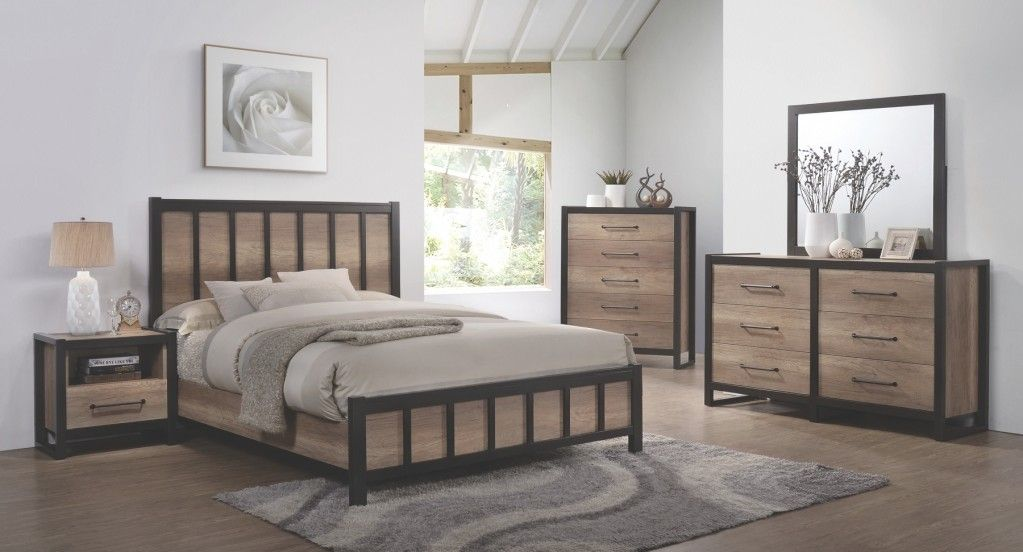 Coaster 206271KE-S4 4pc Edgewater King Bedroom Set W/ Dresser