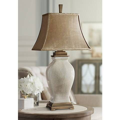280 Uttermost Rory Ivory And Coffee Table Lamp R3653 Lamps