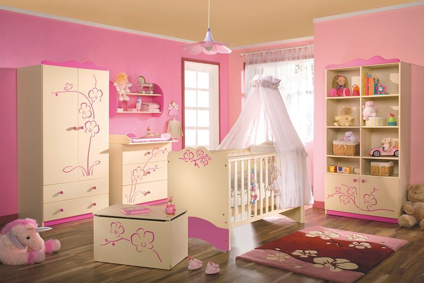 Cool Baby Girls Bedroom Decorating Ideas