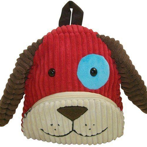 Sassafras / CuddlePack Corduroy Backpack, Dog:Amazon:Toys & Games