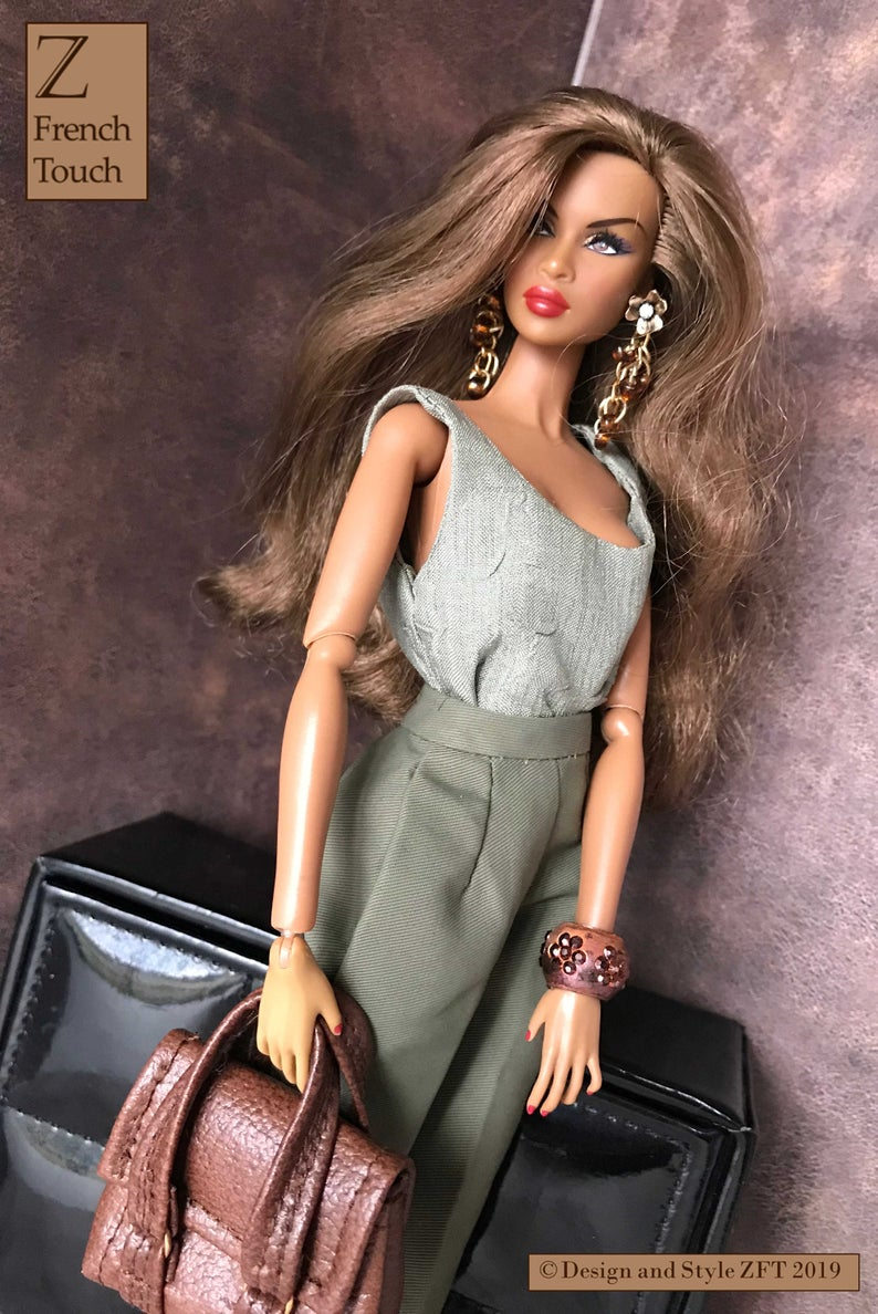 fr2,Barbie Inc bra panties no doll include Fr2 Lingerie nuface poppy Parker