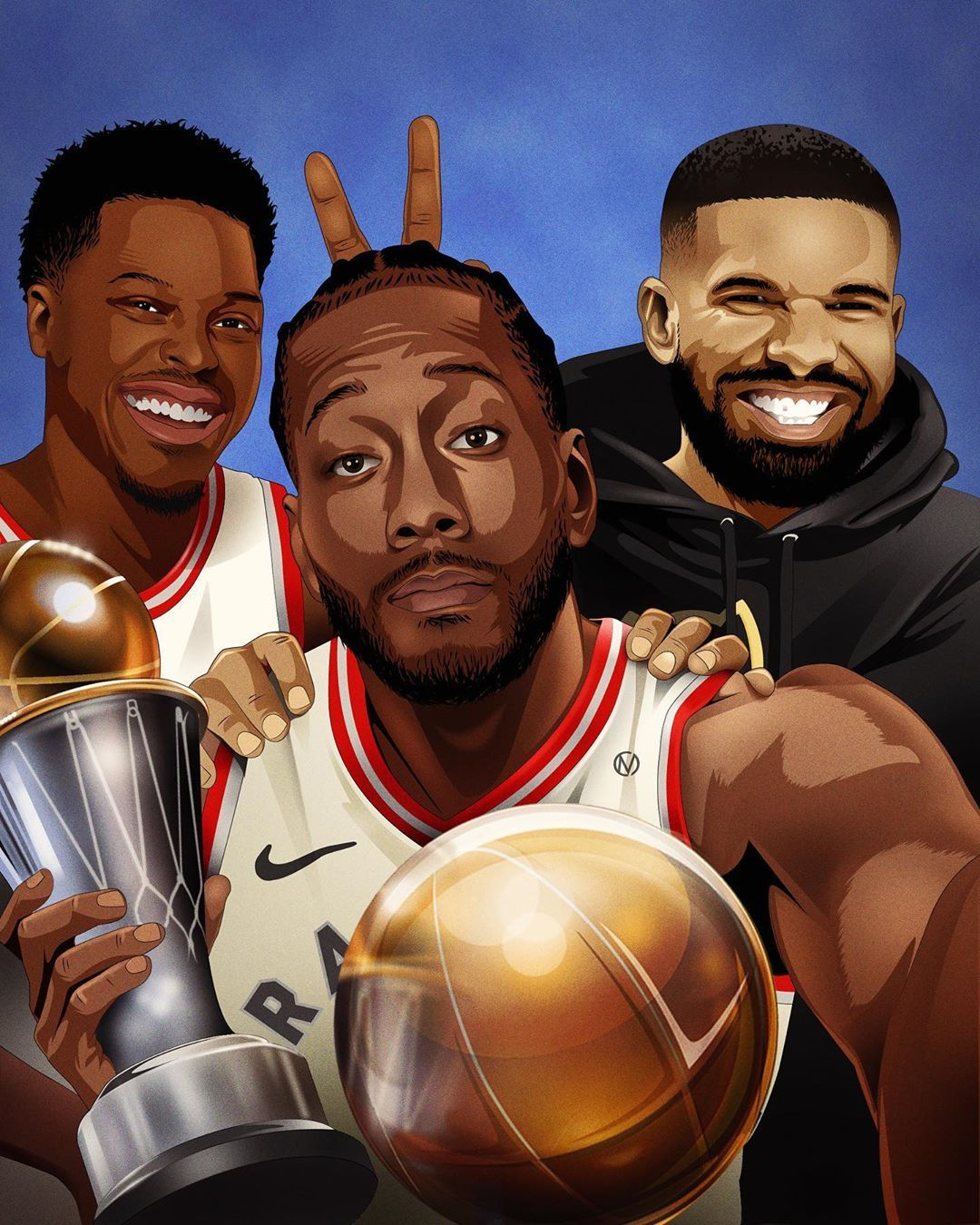Christopher Mineses No Instagram Fun Times In The 6ix Congrats To The Nba Champion Toronto Raptors Nba Champions Toronto Raptors Toronto Raptors Basketball