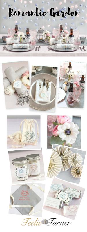 Wedding Lookbook Romantic Garden: www.teelieturner.com #partysupplies
