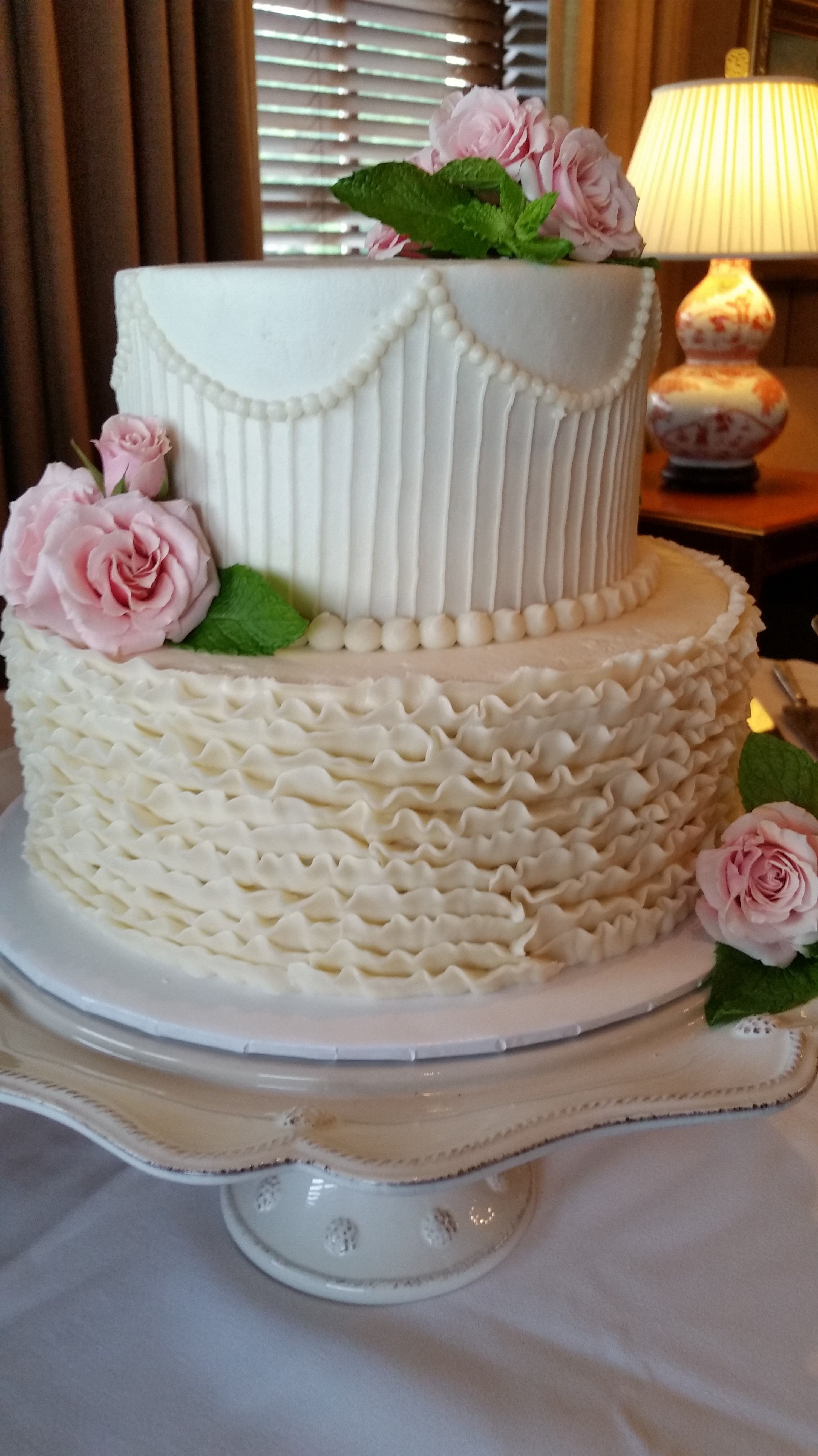 Wedding Cake By Confectionate Cakes, Raleigh NC