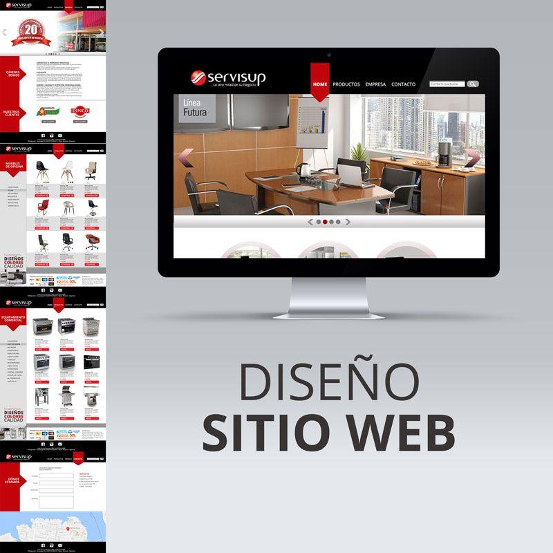 Sitio Web - Servisup