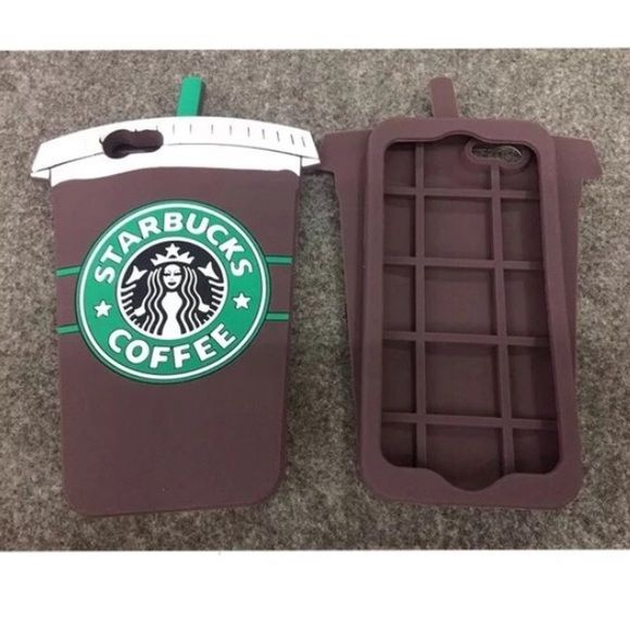 Starbucks iPhone 6 6s case Frappé Mocha iPhone 6 6s case. Listed as brandy for visibility. Brandy Melville Accessories Phone Cases