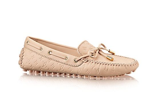 0d675bd5ae0bd Shoes Collection for Women. LOUIS VUITTON -- Gloria Flat Loafer (Color:  Nude)