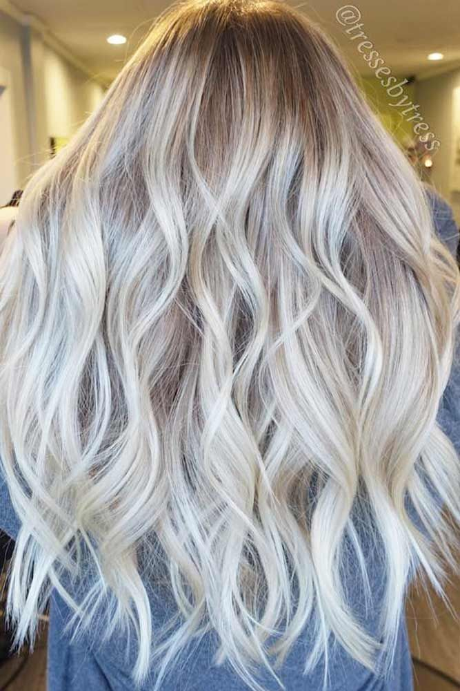 100 Platinum Blonde Hair Shades And Highlights For 2020 Lovehairstyles Hair Styles Long Blonde Hair Long Hair Styles