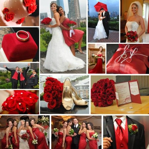 decoración para bodas de color rojo. | bodas | wedding flowers