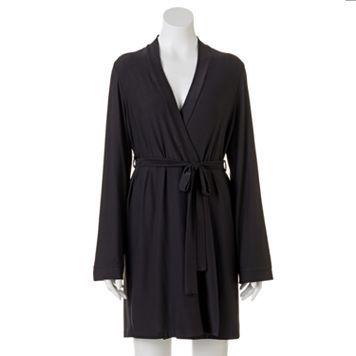 Apt. 9® Knit Wrap Robe - Women's