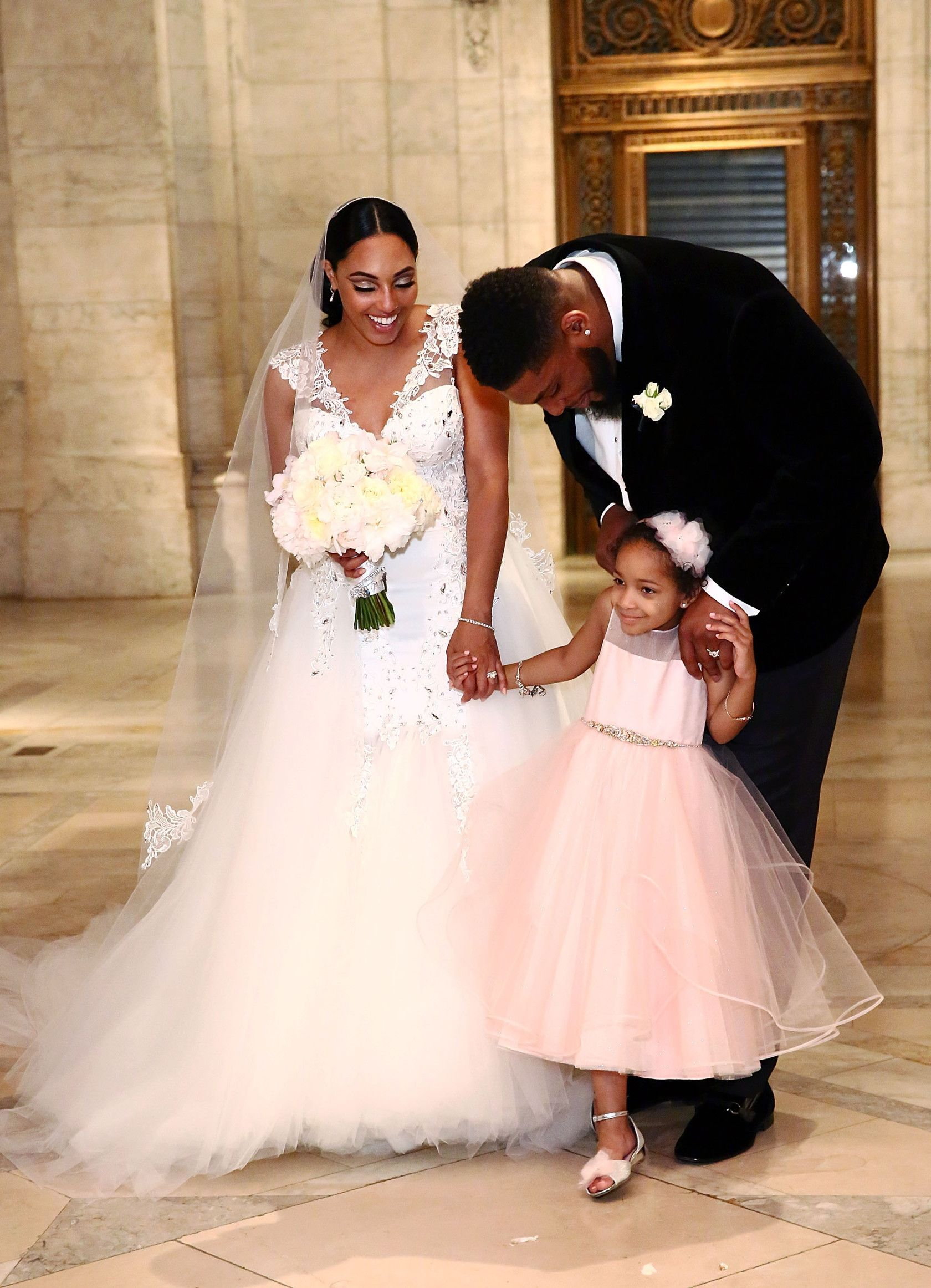 Devon Still Weds Asha Joyce In Emotional Ceremony   Devon and Wedding