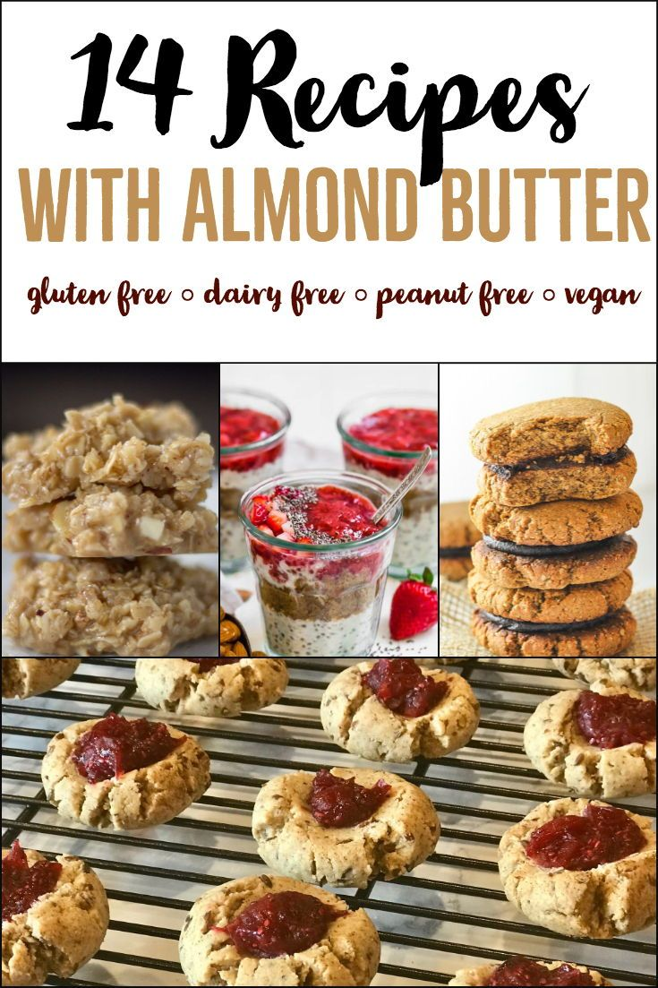 14 Recipes With Almond Butter Sweets And Snacks No
