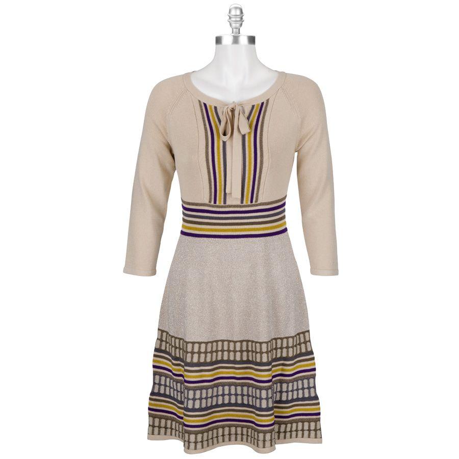 Nine West Textured Sparkle Sweater Dress  4709e17a8