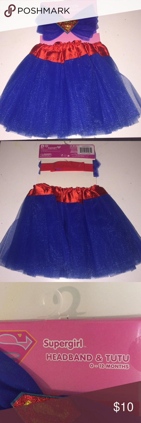 ️SUPERGIRL Outfit 🔵♥️ NWT (With images) Party city