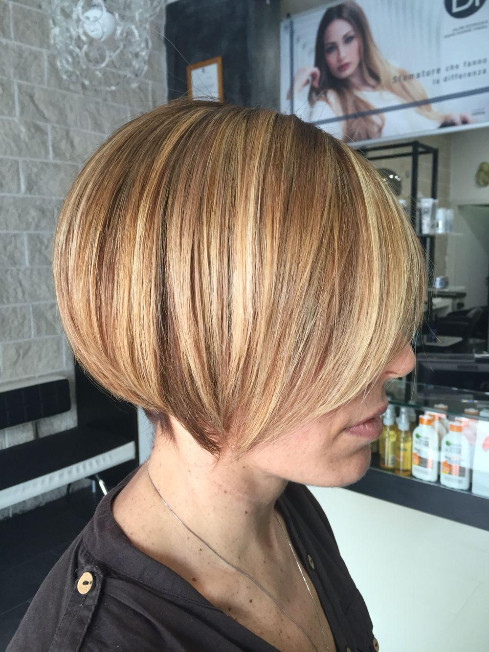 Degradè Conseil   Degradè Conseil   Pinterest   Short hair ...