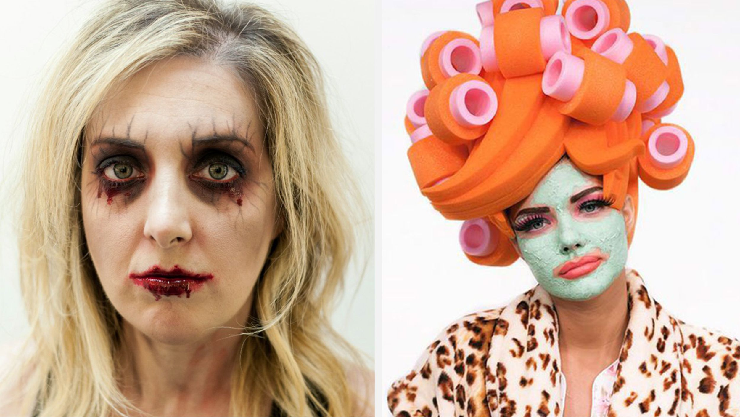 31 halloween makeup ideas that you can do in minutes halloween 31 halloween makeup ideas that you can do in minutes solutioingenieria Images