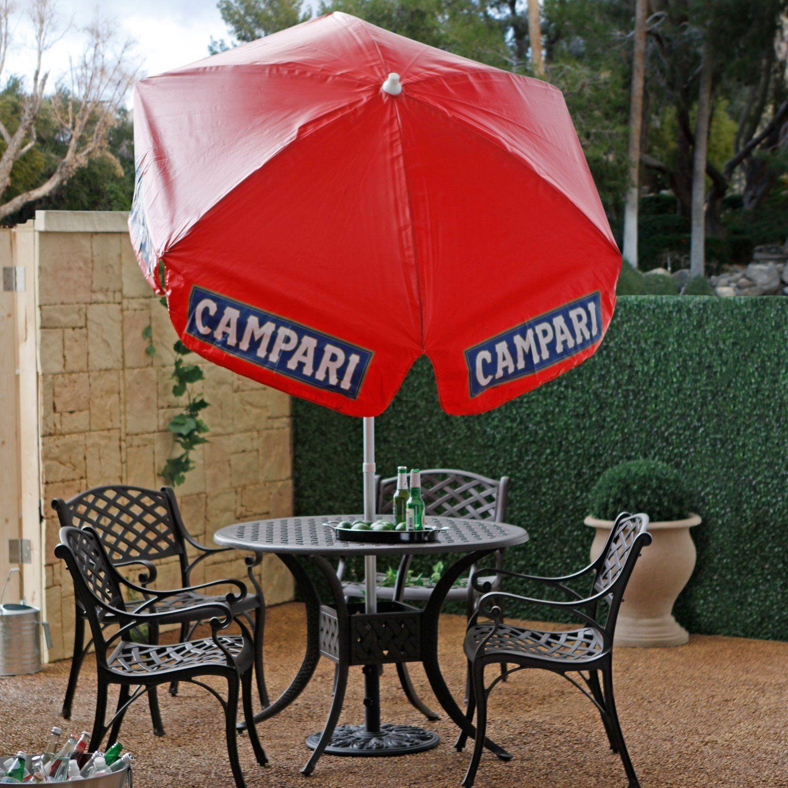 6 ft Campari Logo Patio Umbrella just 100