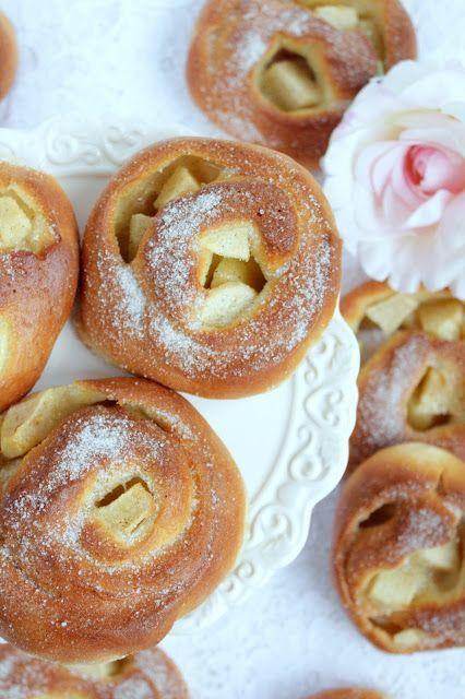 Rezepte mit Herz: Apfelschnecken ♡ #applerecipes Rezepte mit Herz: Apfelschnecken ♡