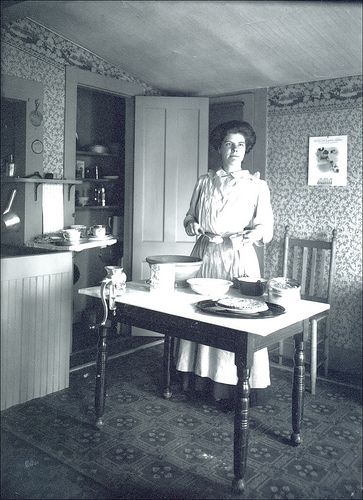 Historic Victorian Kitchen Cabinets An Important Element: Florence M. Whitehouse Of Keene New Hampshire In 2019