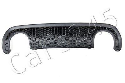 Genuine Rear Bumper Satin Black Valance Diffuser Fits Audi TT 8N S-Line 03-06