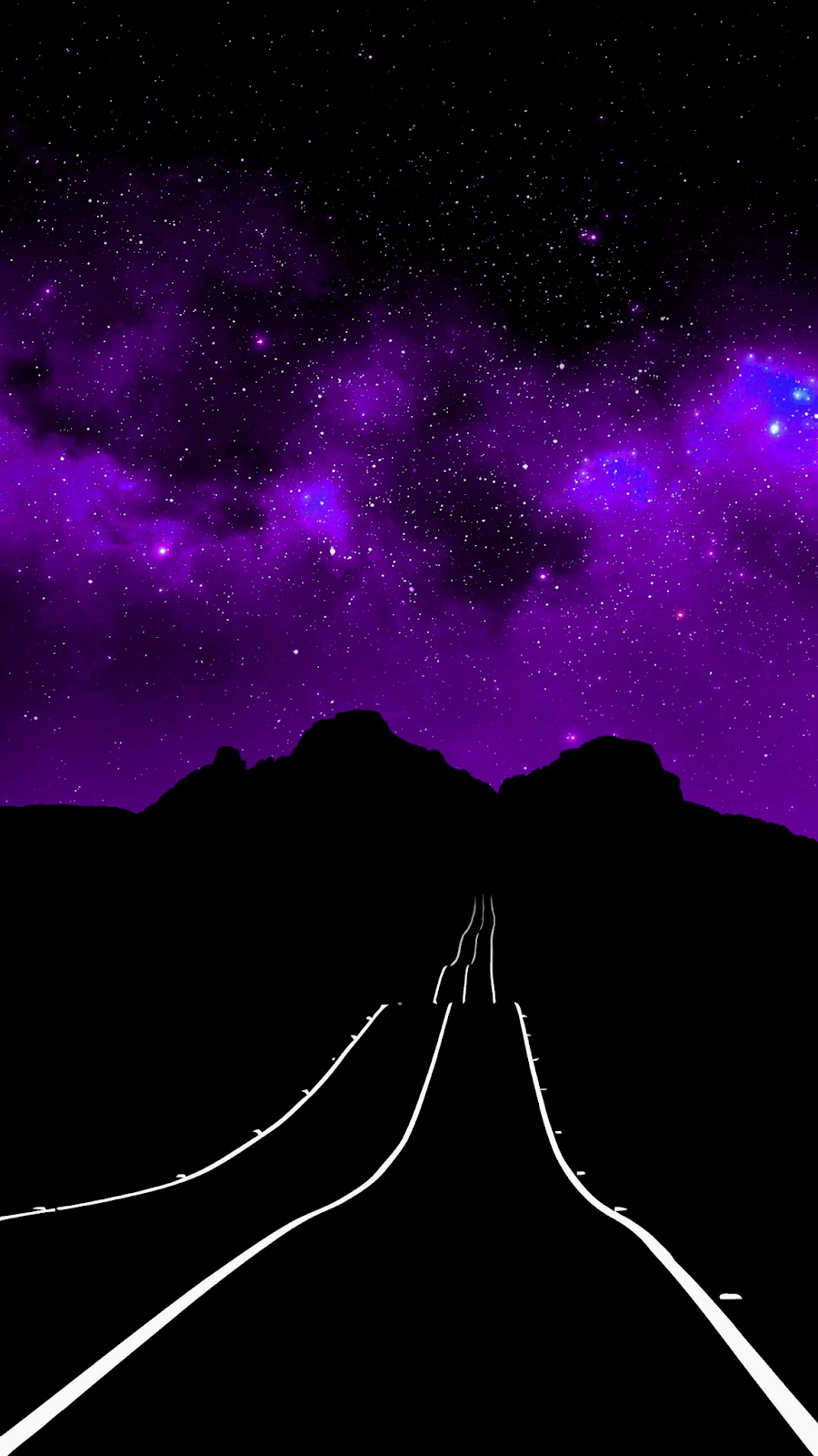 Road Amoled Wallpaper Iphone Android Background Followme