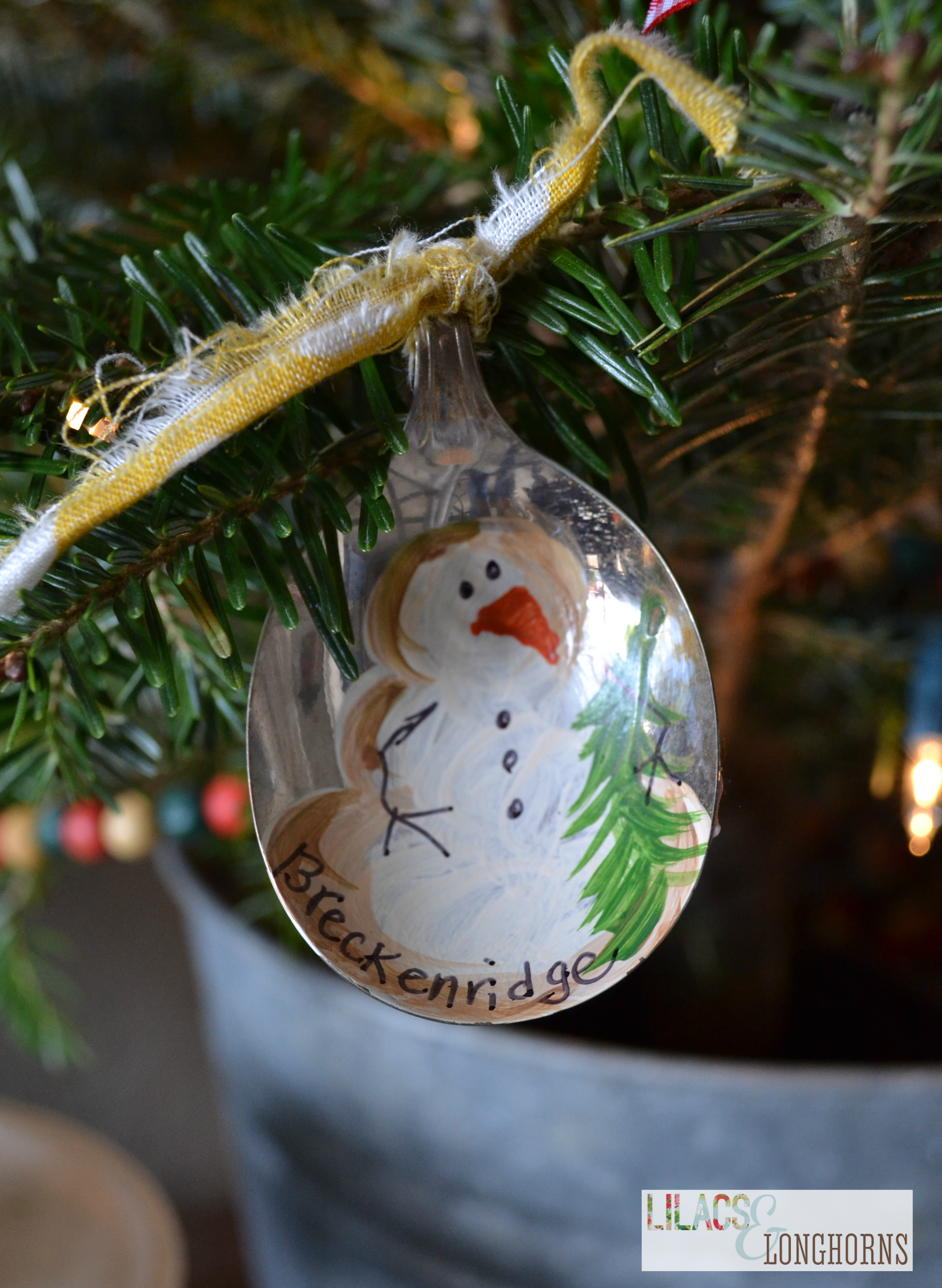Items Similar To Antique Spoon Snowman Christmas Ornament Spoon Ornaments Snowman Christmas Ornaments Snowman