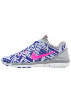 Nike Performance FREE TR FIT 5 Zapatillas fitness e indoor wolf grey pink  pow persian violet white. Nike Performance FREE TR FIT 5 Zapatillas fitness  e ... 424ae5f60cb
