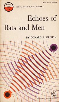 1959 George Giusti book cover, Echoes of Bats and Men