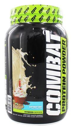 Combat Sport Series Protein Powder Birthday Cake