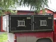 Plywood Dog Boxes Google Search Dog Box Hunting Accessories Truck Bed