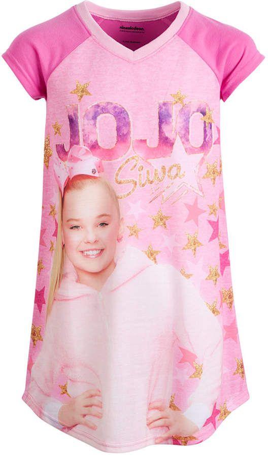 8e46ff6dc4ab0 AME Toddler Girls JoJo Siwa Nightgown in 2019 | Jojo siwa | Jojo ...