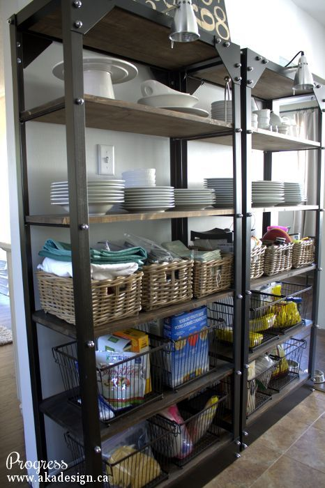 7 Ways To Create Pantry And Kitchen Storage Closet Design Shelving Ideas Open Works If You Don T Have A