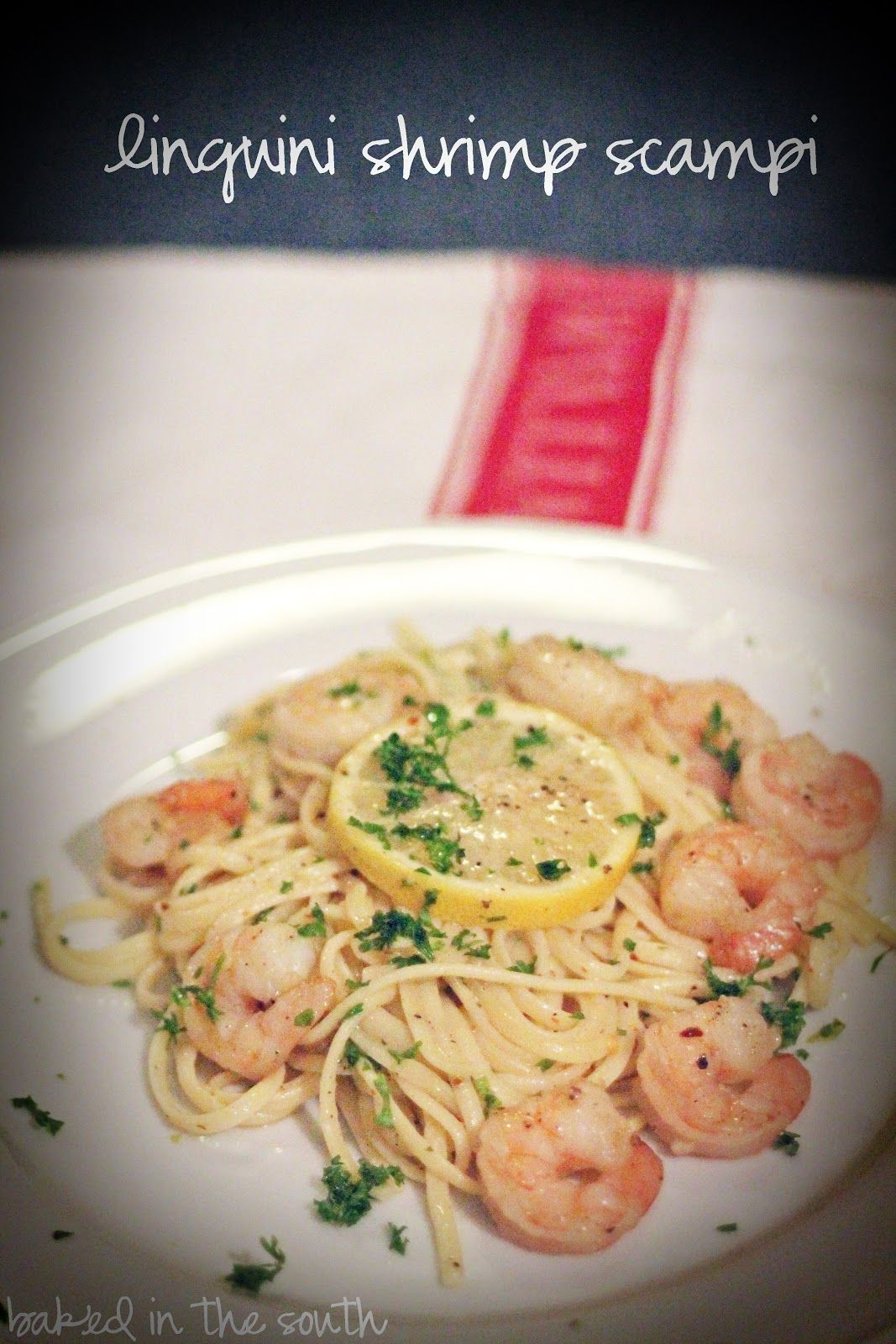 Barefoot Contessa' Shrimp Scampi- Yummy Reduced