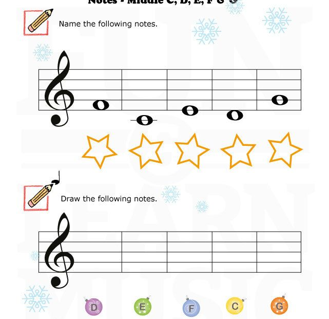 Fun note reading worksheet for young students.   Music ...