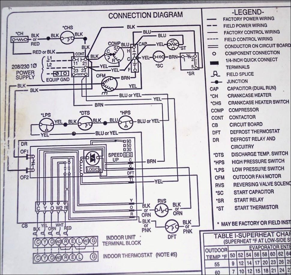 Image result for ac dual capacitor wiring diagram