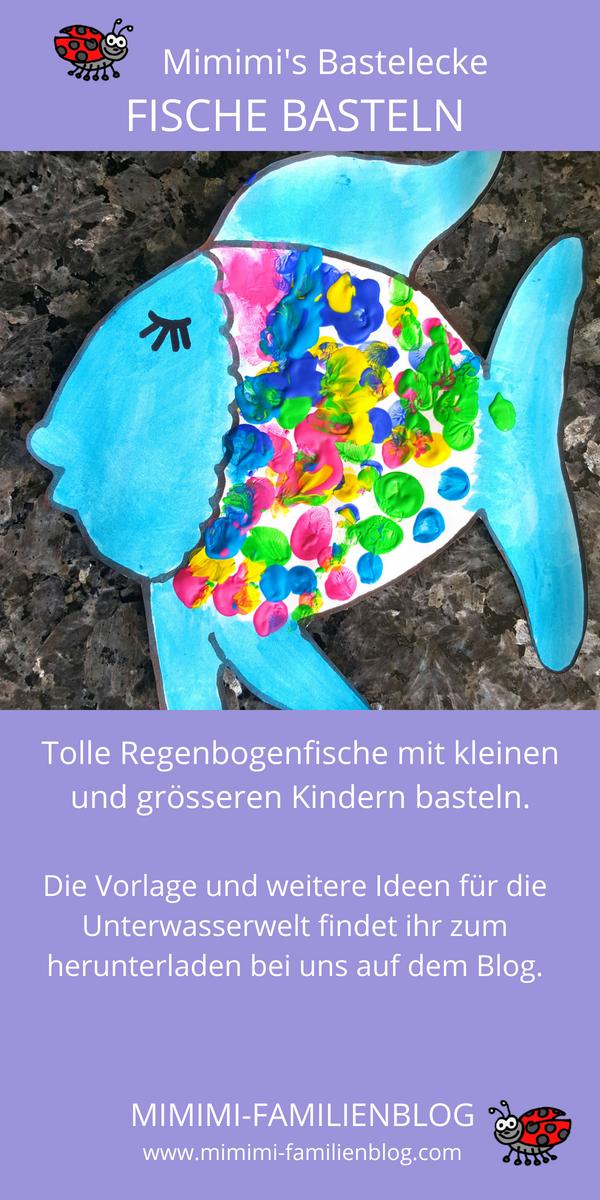 Wir Basteln Eine Unterwasserwelt Deko Mit Kindern Zu Beginn