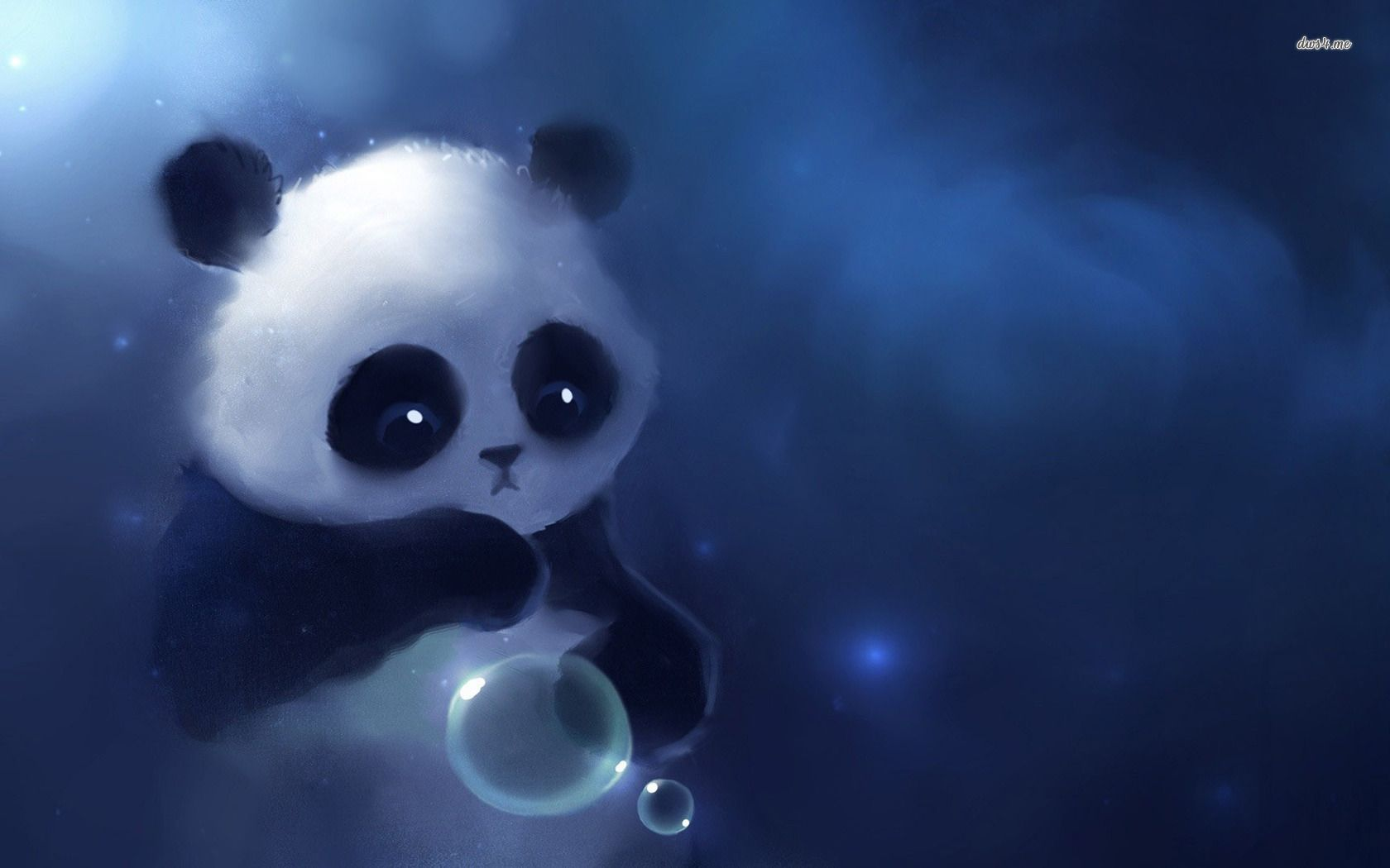 11346 Cute Baby Panda 1680x1050 Artistic Wallpaper