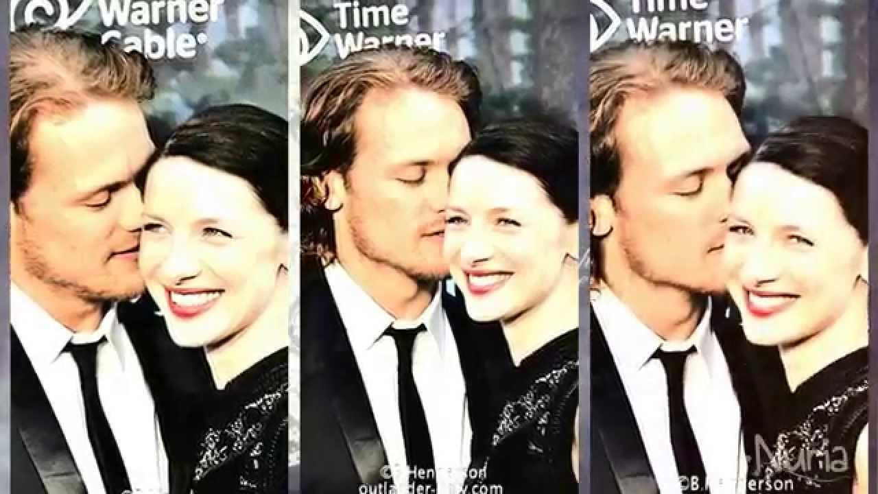 Sam Heughan Caitriona Balfe If They Re Not Dating I Think