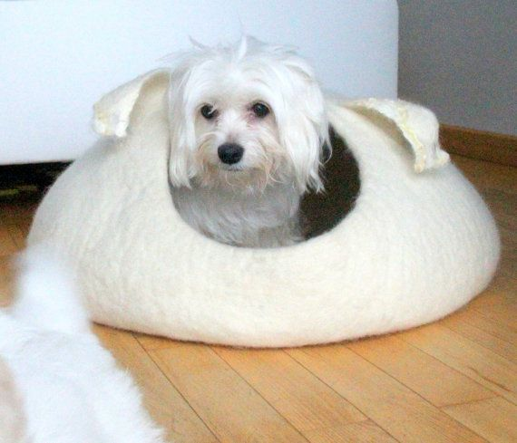 Pets Bed Dog Bed Dog Cave Small Dog House By Agnesfelt 109 00