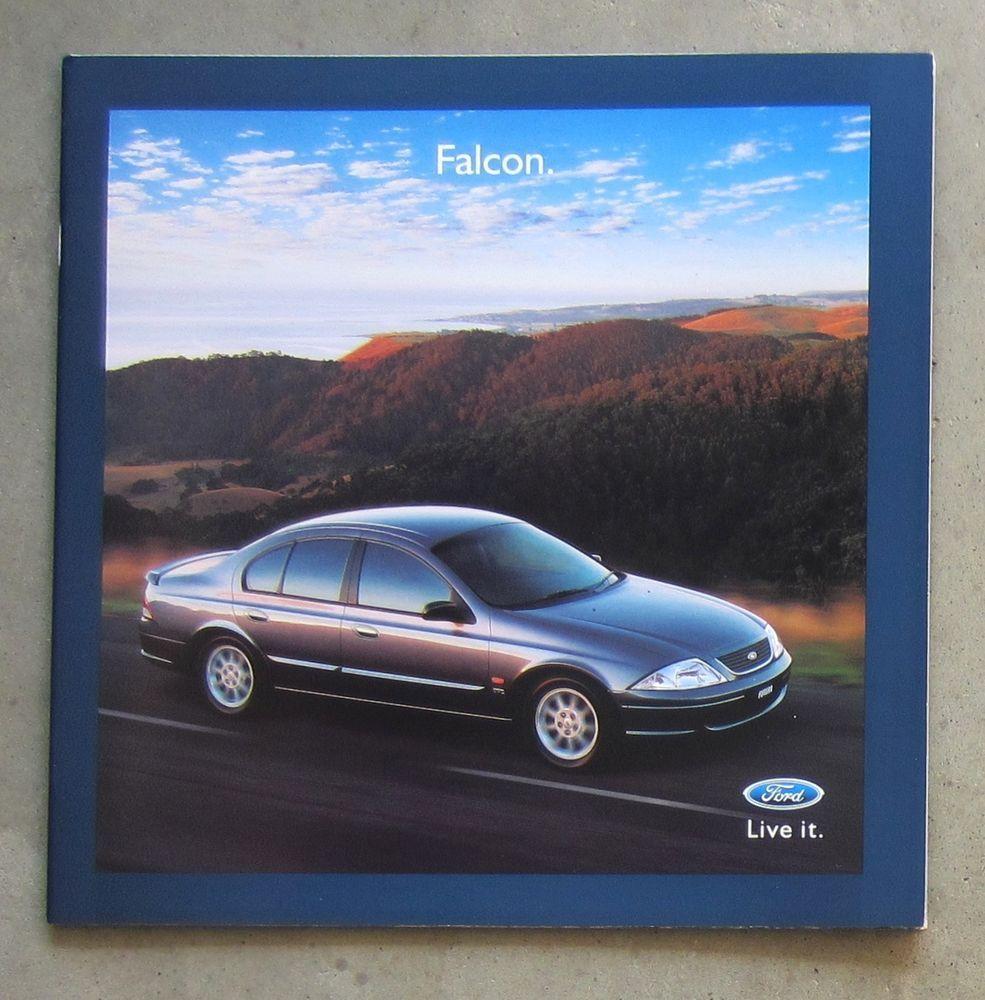 FORD FALCON AU2 2000 SEDAN Auto Owners Sales Brochure Booklet FUTURA FORTE  WAGON