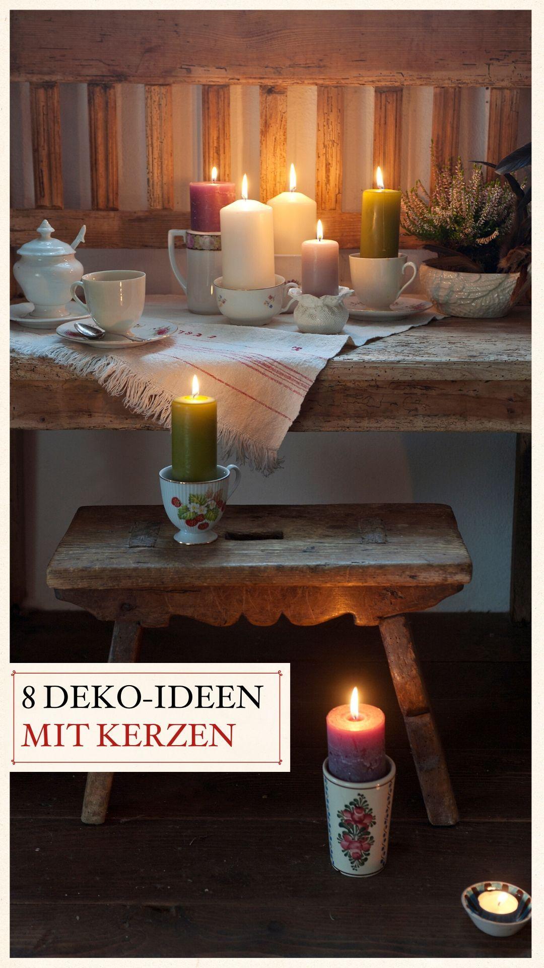 8 Deko Ideen Mit Kerzen Kerzen Deko Ideen Und Deko
